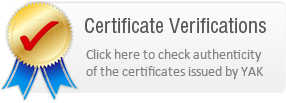 Certification Verifications